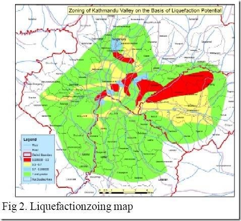 liqufaction zoning map