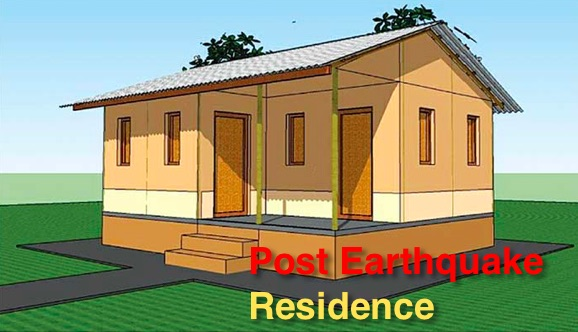 post earthquake residence